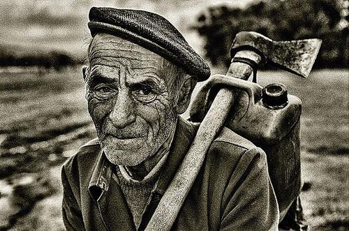 A parabola do velho lenhador